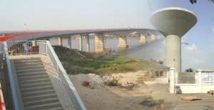 Prek Kdam Bridge(975 m)